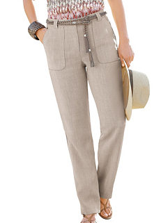 268f7e1a9c8 Collection L Linen Look Trousers