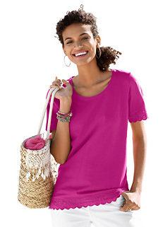 73777715e6e05a Ladies Pink Lace Tops