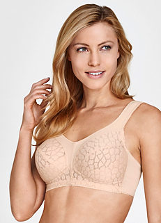 6cd0b67536c Miss Mary of Sweden Soft Cup Patterned Bra