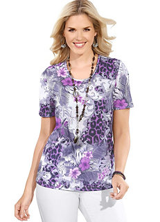 914080920b02ea Ladies Purple Tops | Ladies Lavender & Lilac Tops | WITT