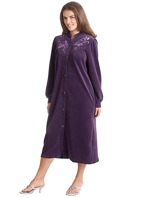 Miss Ulrike Velour Dressing Gown Witt International