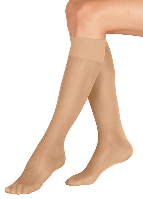 480f718f670 Pack of 4 Knee Support Stockings by Witt