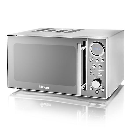 Stainless Steel Microwave Sm3080n By Swan
