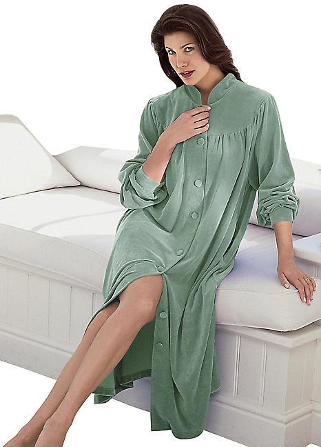 Velour Dressing Gown By Witt Witt International