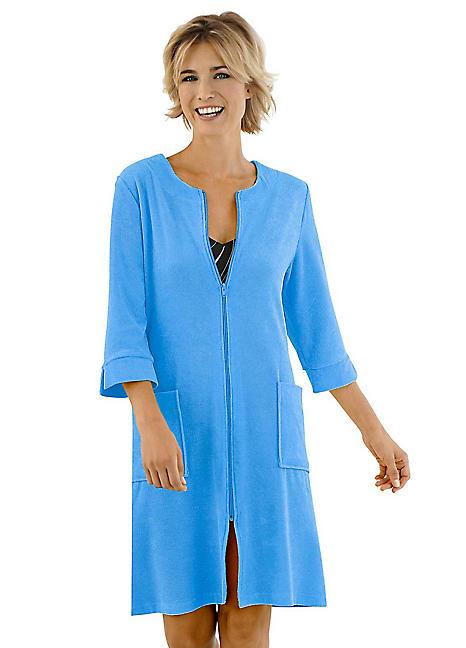 Zip-Up Dressing Gown by Witt  4c19b0b0d